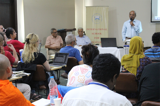 4W & 6W group interaction with Prof. Vasant Shinde