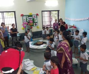 ISSJS.2015-Teaching for Peace School Visit